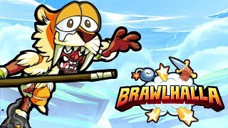 Playing the LEAST PLAYED Legends in Brawlhalla