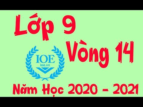 Đáp Án IOE Lớp 9 Vòng 14 Năm Học 2020 – 2021