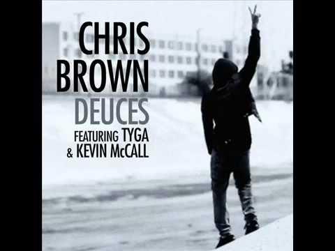 Chris Brown Deuces  karaoke Instrumental