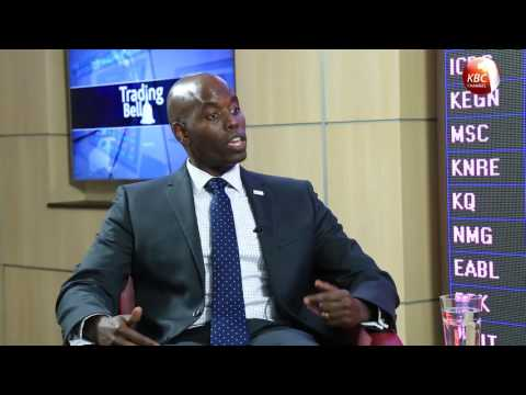Trading Bell - Mr. Paul Muthaura, Chief Executive Officer, Capital Markets Authority, Kenya