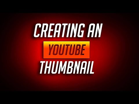 How to create a thumbnail for YouTube in Photoshop