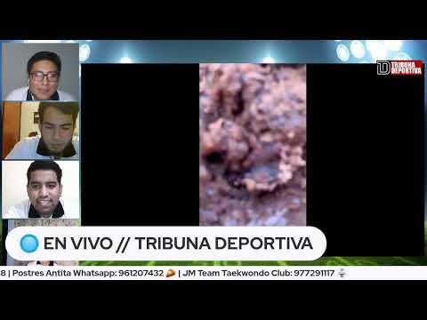 Alexandra Salgado, periodista deportiva del Comercio en Tribuna Deportiva