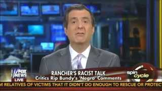 Howard Kurtz rips Fox News for silence after Bundy racism
