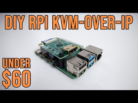 DIY Raspberry Pi KVM-Over-IP Under $60 with Pi-KVM