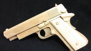 フルオートブローバックゴム銃を作ってみたマシンガンの用に連射するの thumbnail