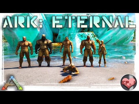 First Day on the new Pooping Evolved ARK: Eternal Server on Crystal Isles!