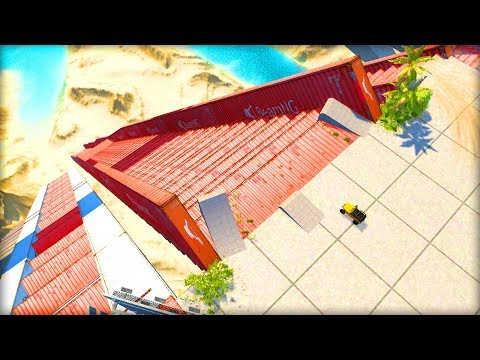 BeamNG Drive Creations : BIGGEST DESTRUCTION RAMP EVER! (BeamNG Drive Crashes)