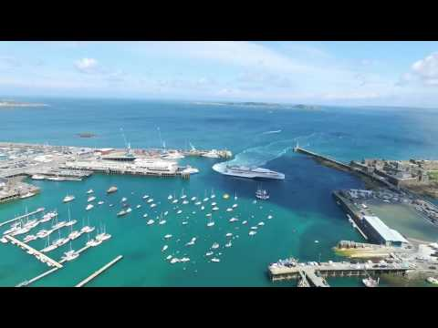 St Peter Port Harbour Timelapse