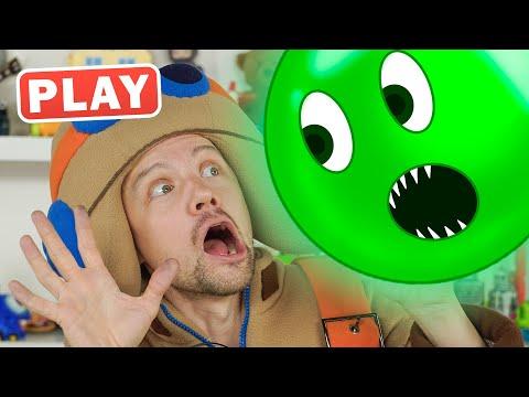 КукуPlay - Шарики из Планшета - Игры и Игрушки Пилота Винтика Поиграйка