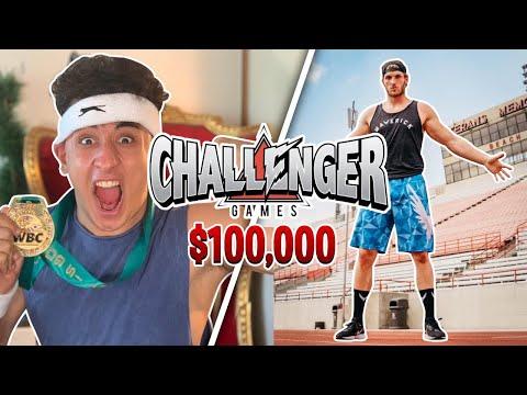 TRAINING ANESONGIB TO BEAT LOGAN PAUL *$100,000 CHALLENGER GAMES*