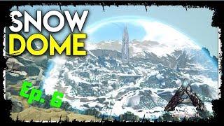 Exploring The Snow Biome-Ark Extinction DLC Episode 5