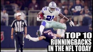 Top 10 Running Backs 2017