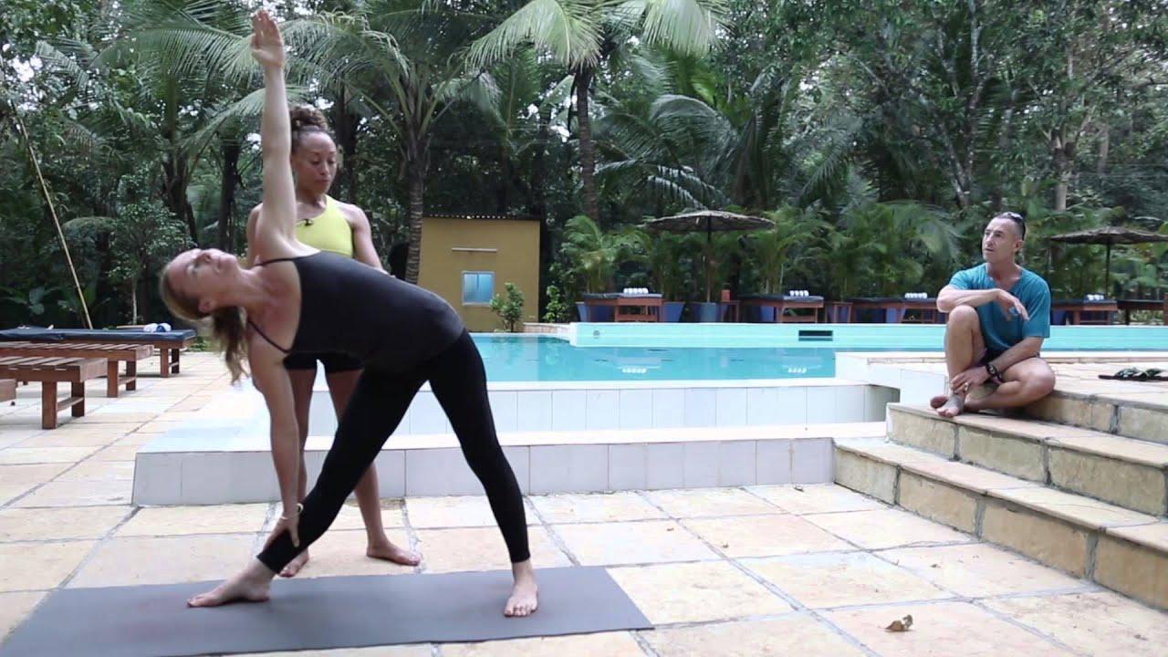 Trikonasana (Ashtanga Yoga) with Laruga Glaser