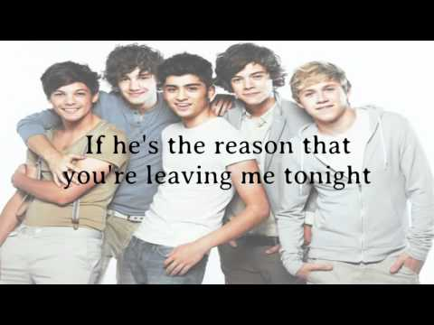 One Direction   Tell Me A Lie  Lyrics +Pictures