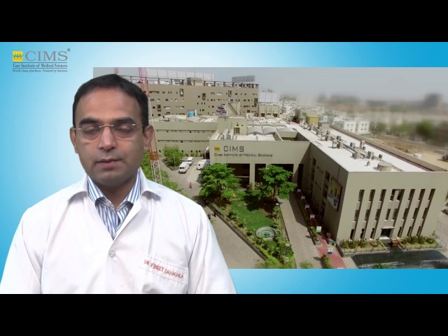 CIMS HOSPITAL - Dr Vineet Sankhla - Acute Heart Attack & Treatment