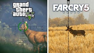 GTA 5 vs Far Cry 5 - Graphics and Gameplay Comparison (ULTRA SETTINGS IN 1080P 60FPS)