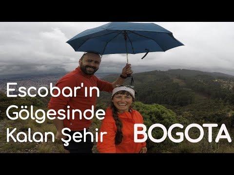 KOLOMBİYA Bogota'yı geziyorum (1. Bölüm)