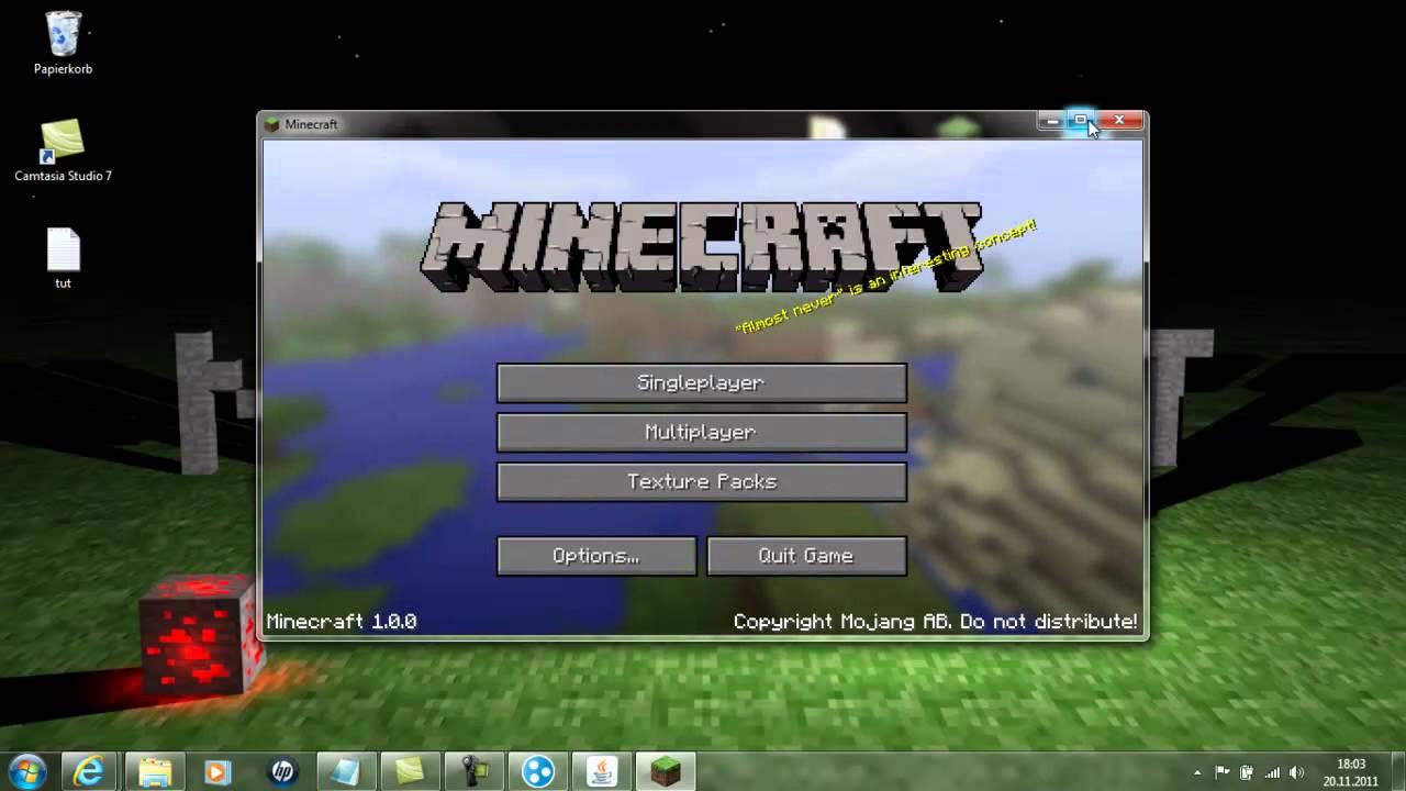 Minecraft Server Erstellen TuT YouTube - Minecraft multiplayer server erstellen 1 8