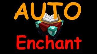 Repeat youtube video Auto Enchant | Info Tutorial Minecraft 1.4.5 | kein nodus !!! | GERMAN!!!!!!