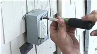 Electrical Help : How to Install a Power Receptacle Outside