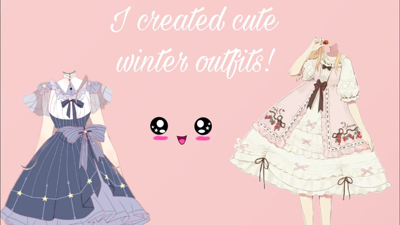 [VIDEO] - Cute winter outfit ideas!💡 4 types of different cute outfits! 2