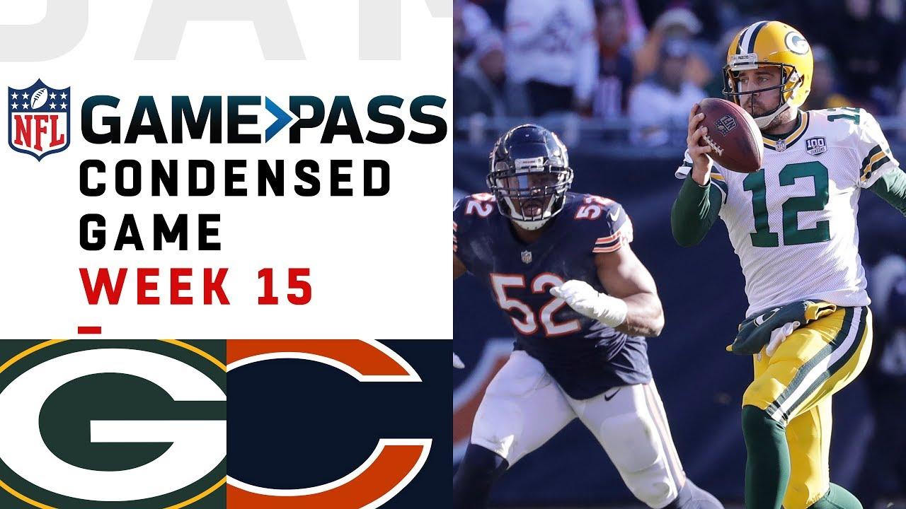 Download Packers vs. Bears | Week 15  NFL Game Pass Condensed Game of the Week