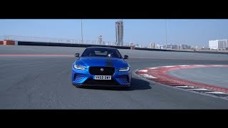 Jaguar XE SV Project 8 Dubai Autodrome Lap Record