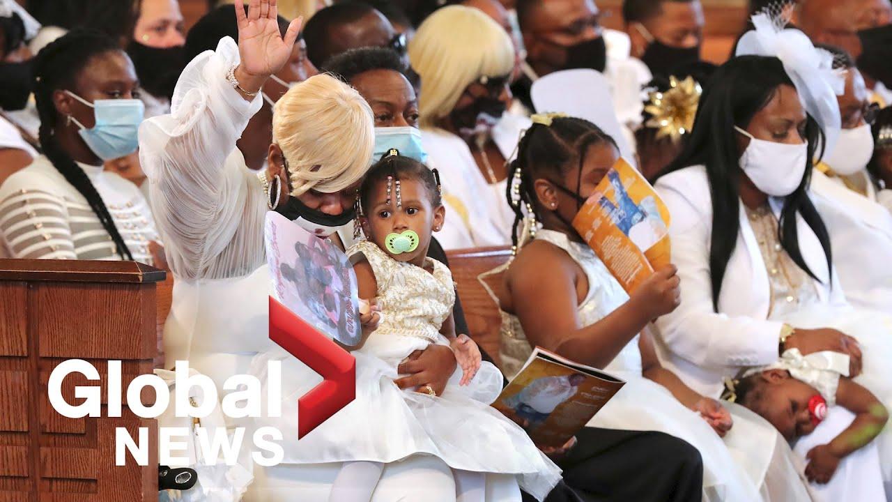 Download Rayshard Brooks funeral held in historic Ebenezer Baptist Church in Atlanta   FULL
