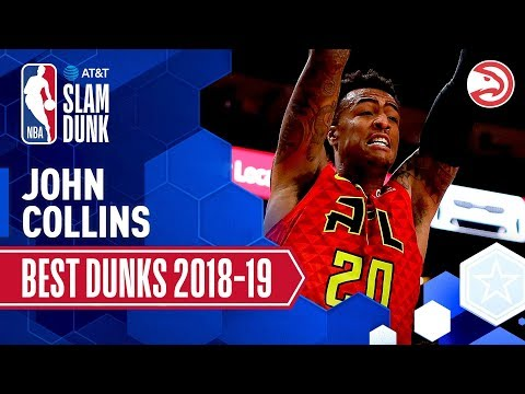 John Collins' Best Dunks of the Season | 2019 AT&T Slam Dunk Participant