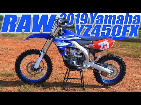 2019 Yamaha YZ450FX RAW - Dirt Bike Magazine