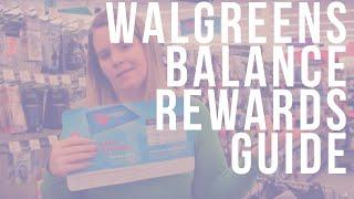 Walgreens Balance Rewards Guide