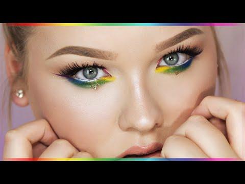 RAINBOW EYES ∆ Makeup Tutorial