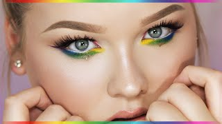 RAINBOW EYES ∆ Makeup Tutorial