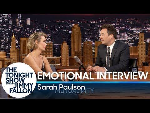 Emotional  with Sarah Paulson