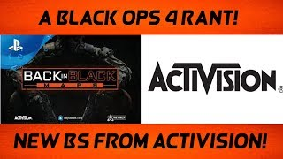 A Black Ops 4 Rant - Same and New Bull$#!t (Black Ops 2 Gameplay)