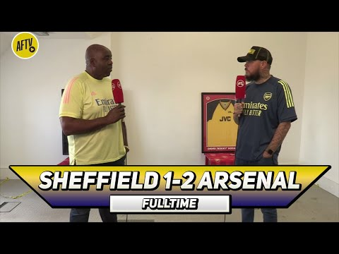 Sheffield Utd 1 - 2 Arsenal | A Big Chance To Win The FA Cup! (DT)