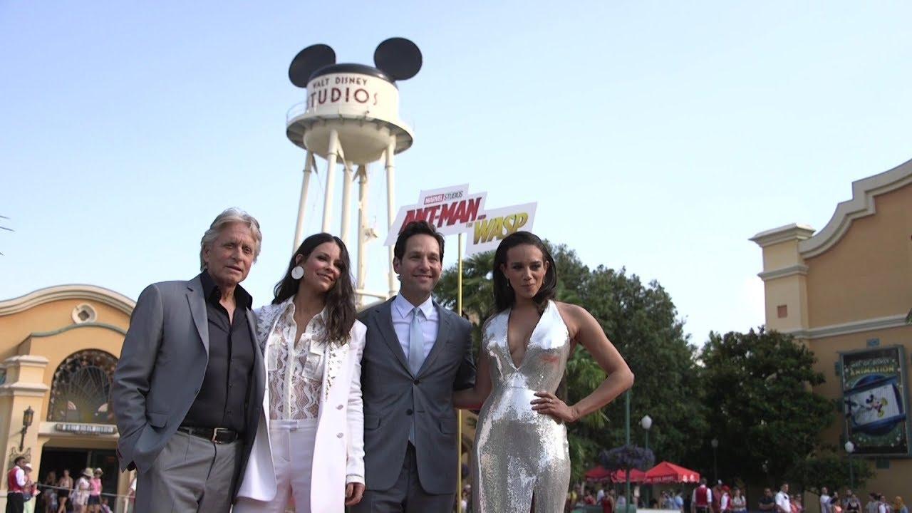 adecff1aa98df Ant-Man et La Guêpe - Reportage : Avant-première européenne à Disneyland  Paris