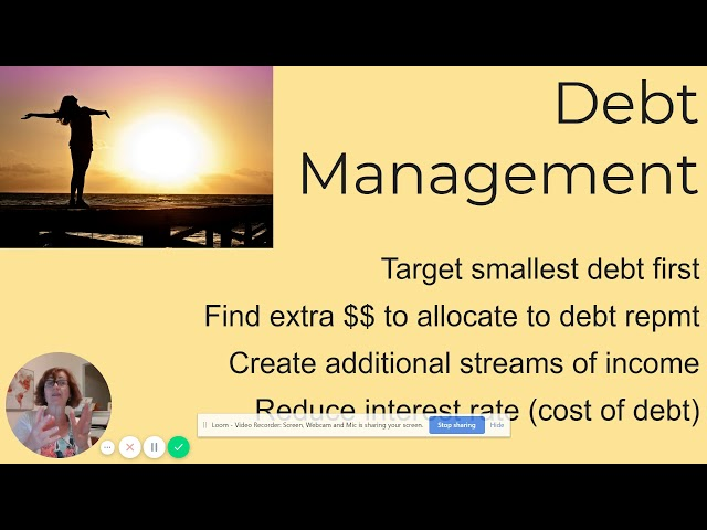 Accelerated Debt Repayment