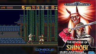 Revenge of Shinobi (Sega Mega Drive/ Genesis) - прохождение игры