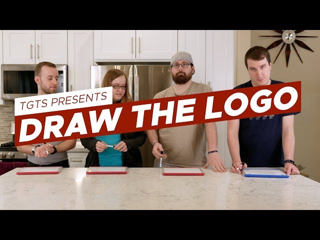 Geeks Try Drawing Tech Logos | TGTS S2E07