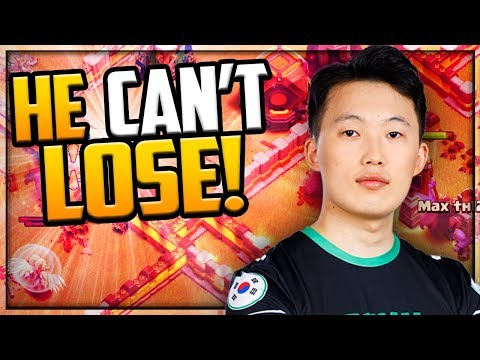HE CAN'T LOSE! MORE 300 IQ Attacks In Clash Of Clans