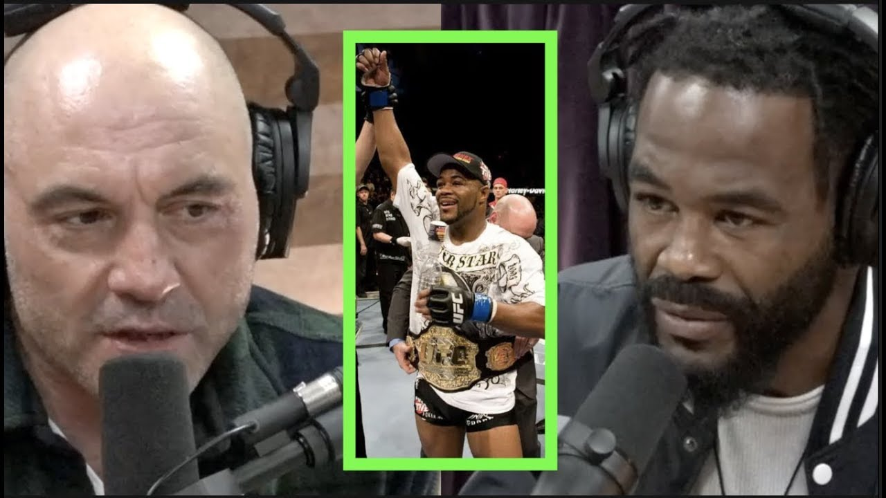 Psychedelics Helped Rashad Evans With Retirement Transition | Joe Rogan