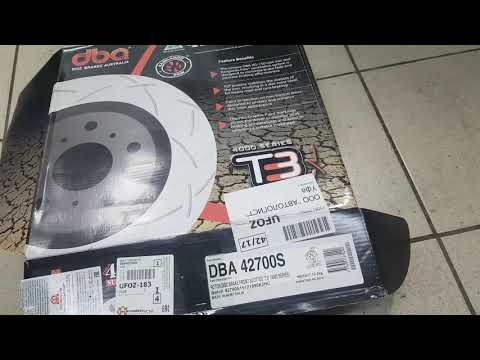 Лексус Gx470, Прадо 120. Тормозные диски DBA 42700S. Заметки.