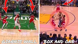 Why The 2019 Toronto Raptors Defense Was One of THE BEST! (Giannis Wall & Curry Box And One)