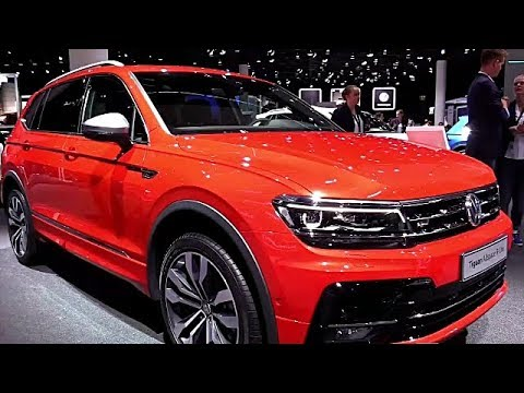 2018 volkswagen tiguan allspace r line tdi preview youtube. Black Bedroom Furniture Sets. Home Design Ideas