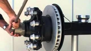 Ступичная система BPW ECO Plus обзорное видео, принцип обслуживания