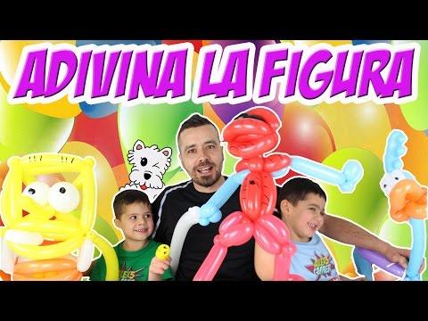 Globoflexia - ADIVINA LA FIGURA - Globo, juegos y juguetes