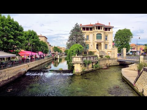 [4K] L'Isle-sur-la-Sorgue - the Town of Water, France, Provence (videoturysta.eu)