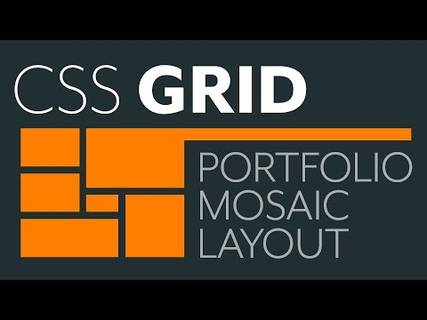 Build A Mosaic Portfolio Layout With CSS Grid