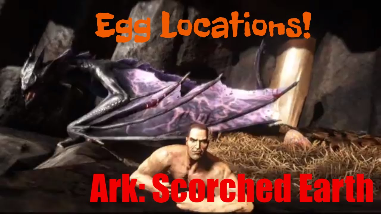 Wyvern Egg Spawn! - Ark: Scorched Earth - YouTube